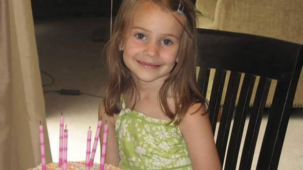Allison Wyatt, 6, was a kind-hearted little girl who formed special bonds with almost everyone she met. She'd surprise her family with her random acts of kindness – once even offering her snacks to a stranger on a plane, her family recalled. (HANDOUT/Reuters)