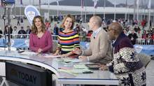 NBC's Sochi 2014 team. The network's faced plenty of criticism over its coverage of the Olympics. (AP)