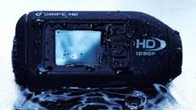 The Drift HD Action Sports Camera features a rugged, water-resistant 120-gram body, and sports a durable, matte-black, rubberized shell that proved quite capable of weathering minor bumps and drops. Now, if only the picture quality was as robust.