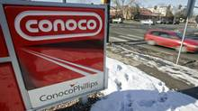 A Conoco Phillips gas station in Boulder, Colorado January 24, 2007. (RICK WILKING/RICK WILKING/REUTERS)