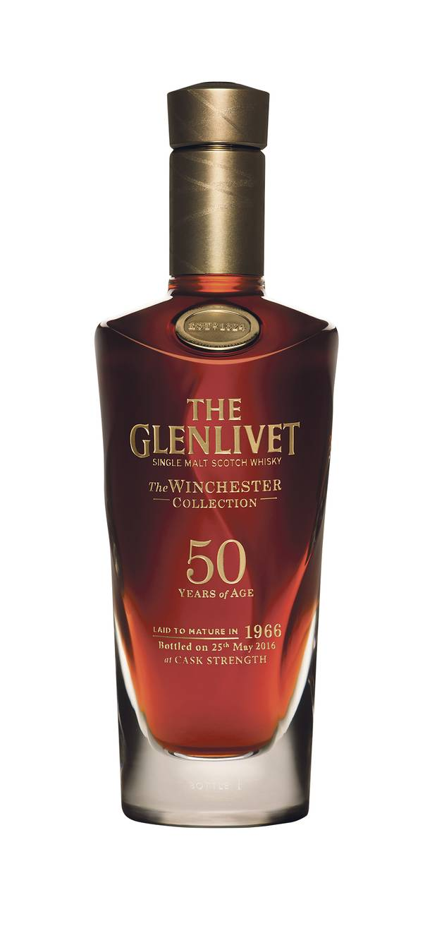 WORTH IT: Glenlivet 50-year-old, from a single cask laid down by the last surviving descendant of the distillery's founder. Price: $25,000.