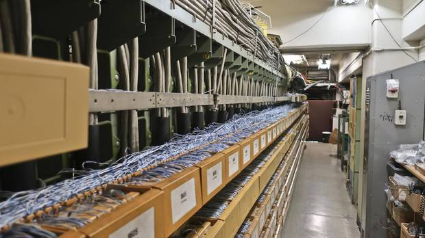 The telephone connection room at the 50-year-old TD Centre was once state of the art. But the Toronto building's connectivity systems have been overhauled to meet changing technology and needs.
