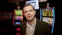 Luke Clark, inaugural director of the Centre for Gambling Research at University of British Columbia, is photographed in Vancouver, January 28, 2014. (Rafal Gerszak for The Globe and Mail)