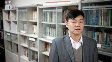 Zhang Zhiru runs Spring Labor Dispute Organization in China, which offers legal advice, a free library and a computer lab to migrant workers. (Jocelyn Baun/Jocelyn Baun)