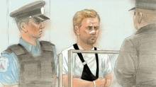 Richard Kachkar, the man accused of murder in the snowplow death of a Toronto police officer made his first appearance before a packed courtroom on Jan. 21, 2011. (CTV News)