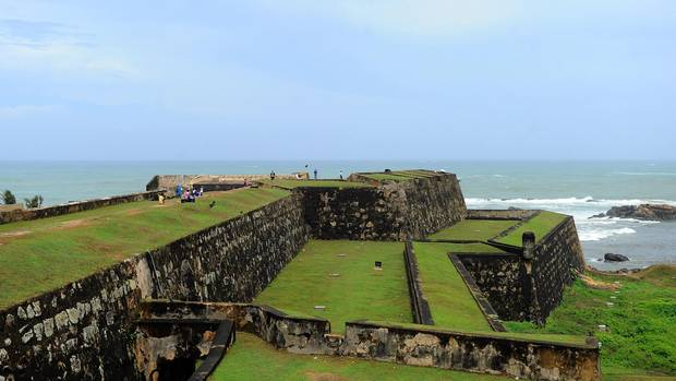 The Galle Fort in Sri Lanka's southern port city of Galle.