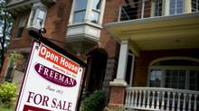 A for sale sign on a home. (Sarah Dea/The Globe and Mail)