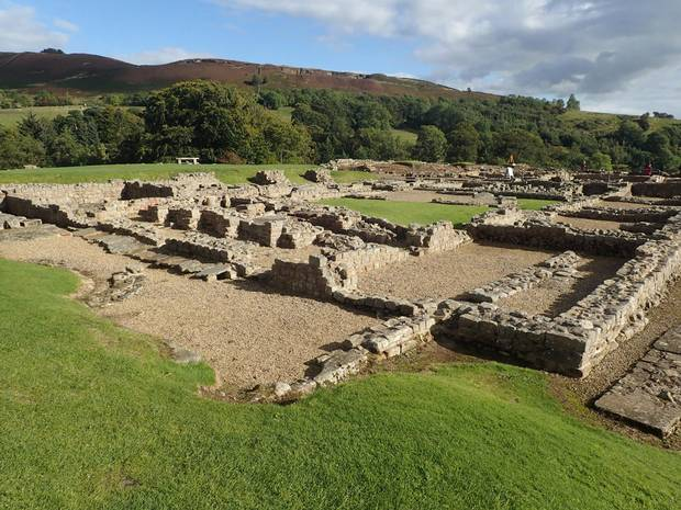 Vindolanda features the remains of a fort even older than Hadrian's Wall.