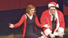 "Stacey McGunnigle and Craig Brown in ""The Second City's Dysfunctional Holiday Revue."" (The Second City)"