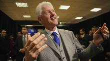 Former U.S. president Bill Clinton has presence when he comes into a room. He surprised journalists at a recent book signing by asking them whether they had any questions. He fielded several before going back to signing books. (Fred Lum/The Globe and Mail/Fred Lum/The Globe and Mail)