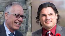 The RCMP are set to deliver an update on their Senate investigation Tuesday morning, Feb. 4, 2014 that is likely to announce charges against Mac Harb and Patrick Brazeau.