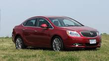 2012 Buick Verano. (Bob English for The Globe and Mail)