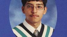 This is a high school yearbook photograph of Stephen Arthuro Solis-Reyes, 19, in London, Ont. (Dave Chidley/The Canadian Press)