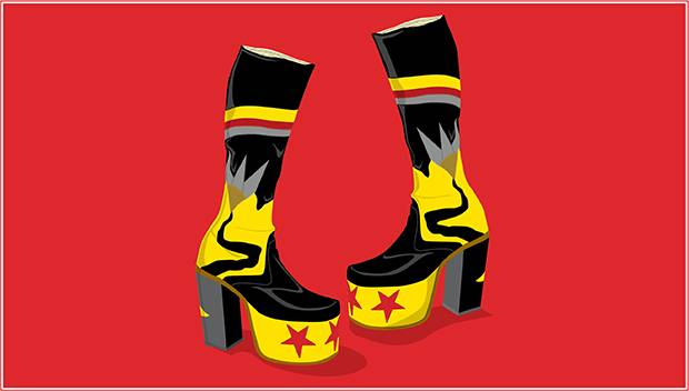 cbb0887d86af The history of the Master John platform heel - The Globe and Mail