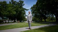 Stephen Toope, finishing an eight-year run as president of the University of British Columbia, is heading to Toronto. (DARRYL DYCK/THE GLOBE AND MAIL)