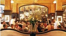 The Bathazar restaurant in New York.