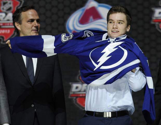 Jonathan Drouin, right, did himself no favours with his actions by cancelling a chance to showcase himself in front of dozens of scouts congregating in Toronto to watch him play against the Marlies.