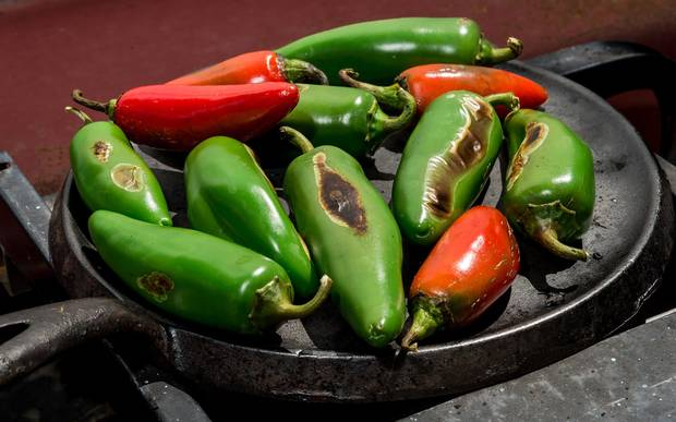 Some Chile peppers register a high rating on the Scoville scale, which measures a chile's potency.