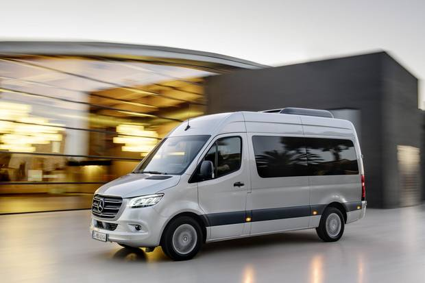 Prices for the new Sprinter will probably be about the same as the current generation.