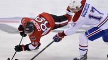 The Ottawa Senators, who hosted the Montreal Canadiens Thursday, were the only team to advance past the the first round of the playoffs last season. (Adrian Wyld/THE CANADIAN PRESS)