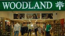 One of the Woodland retail stores in India.