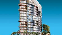 Rendering of 6th + Fir project, Vancouver, by Gregory Henriquez.