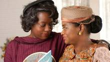"""Octavia Spencer (right) and Viola Davis in a scene from """"The Help."""" (Dale Robinette/AP)"""