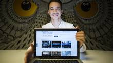 Bill Mainguy says Reelhouse is designed to increase viewer engagement and give audiences an enhanced experience. (John Lehmann/The Globe and Mail)
