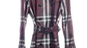 Burberry's double-breasted nylon trench.