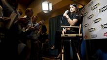 Driver Danica Patrick at a NASCAR Media Tour in Concord, North Carolina January 23, 2012. (CHRIS KEANE/REUTERS/Chris Keane)