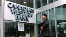 Edmonton-based Canadian Western Bank (Globe and Mail)