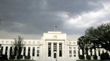 The U.S. Federal Reserve building in Washington. (JIM BOURG/REUTERS)
