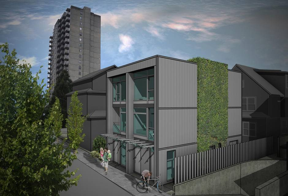 Vancouver S Laneway Housing Expanding With Apartment Buildings