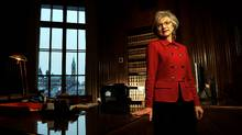 The Right Honourable Madam Chief Justice Beverley McLachlin, P.C., is photographed in her office at the Supreme Court of Canada on Jan. 5, 2010. (Fred Lum/Fred Lum/THE GLOBE AND MAIL)