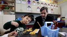 British Columbia Education Minister George Abbott. (DARRYL DYCK For The Globe and Mail)