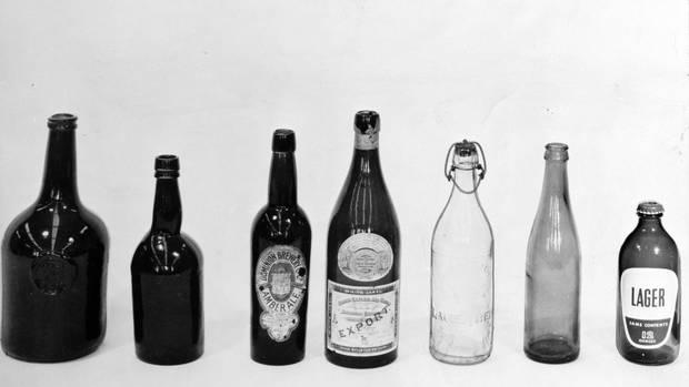 from left: 1725, 1815 , 1855, 1875, 1962. Credit: John E. Milne. Originally published Feb. 26, 1962.