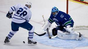Ebner: Forgotten Man Luongo Quietly Starring For Canucks Again