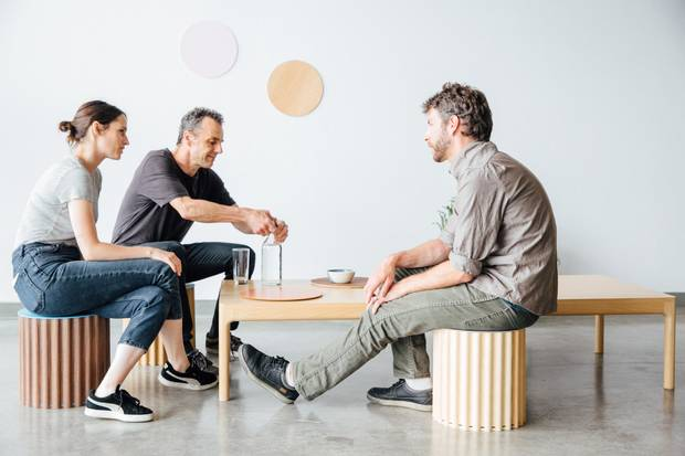 The designers with work on display at the Interior Design Show include Vancouver's own 600sq and Studio Corelam.