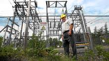 SEAL COVE POWER PLANT: 2 JULY 2008 -- STAN MARSHALL -- CEO Stan Marshall, CEO of Fortis Inc., a large power and natural gas utility based in St. John's, NL, at the Seal Cove Power plant. Photo by Paul Daly (Paul Daly/Paul Daly for The Globe and Mail)