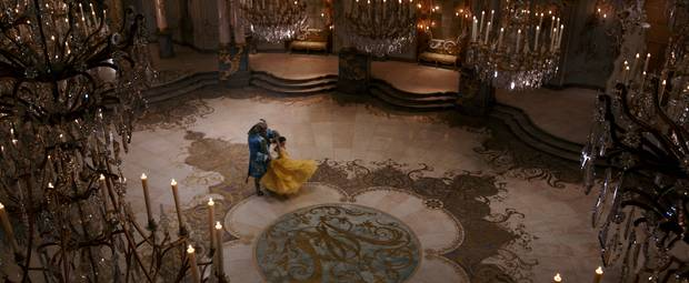 An image from Disney's upcoming Beauty and the Beast, directed by Bill Condon.