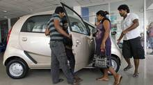India's Nano hits bumps on the road (Eranga Jayawardena/AP)