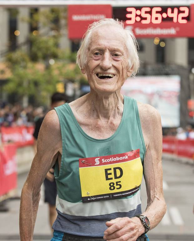Ed Whitlock long followed the Long Slow Distance running method, using hours-long training laps to build a 'race base' to draw on when his competitors would get tired in later stages of a race.