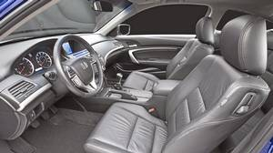 Inside the 2011 Honda Accord Coupe