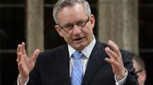 International Trade Minister Ed Fast, seen during Question Period last month, says he won't accept Nigeria's position as the largest African economy. (Sean Kilpatrick/The Canadian Press)
