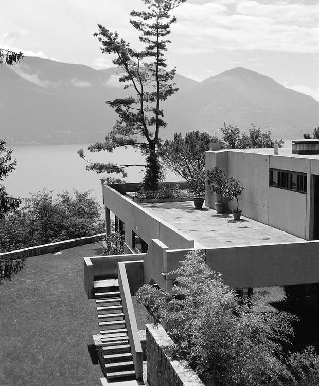 The Koerfer house in Switzerland by Marcel Breuer.