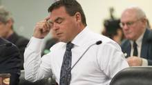 Toronto city councillor Giorgio Mammoliti attends a committee meeting at City Hall on Feb. 15, 2013. (Chris Young for The Globe and Mail)