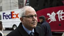 Peter Madoff arrives at Federal Court in New York, Dec. 20, 2012. (ANDREW BURTON/Reuters)