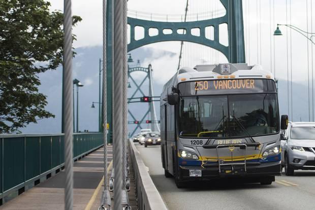 A West Vancouver's Blue Bus