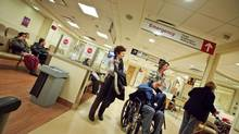 File photo of patients at Sunnybrook Hospital on December 5, 2010. (JENNIFER ROBERTS For The Globe and Mail)