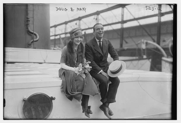Douglas Fairbanks and Mary Pickford
